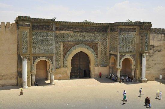 Pavillon des Idrissides: Bab Mansour, la meravigliosa porta di Meknes
