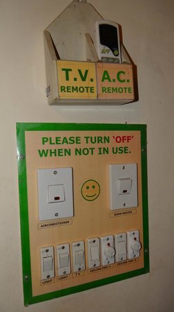 Jaipur Inn: switch