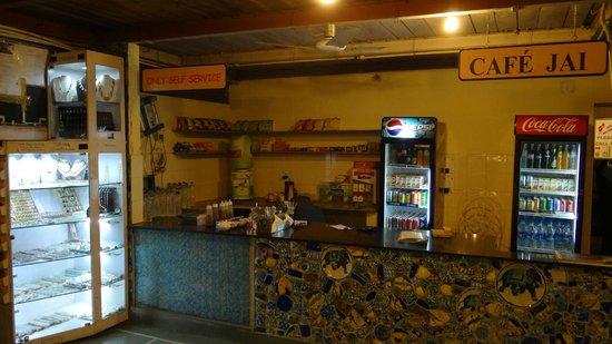 Jaipur Inn: cafe
