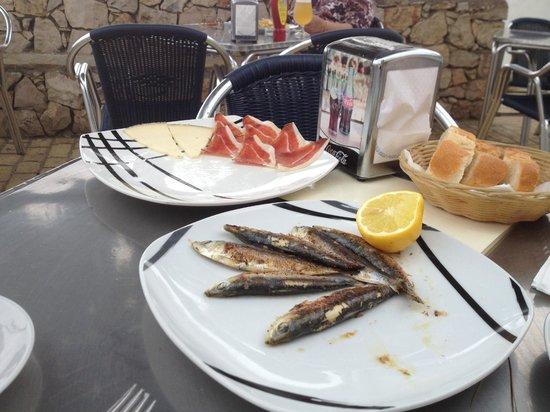 Bar Valentin : Sardines for lunch