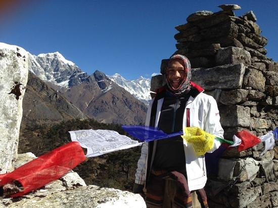 Outdoor Himalayan Treks - Private Day Tours : my amazing journey to Namche Bazar (with Mt. Everest in the background!)