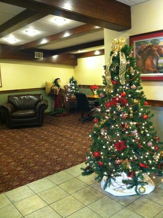Clarion Inn & Suites: Christmas at the Clarion