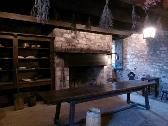 Old Fort Niagara : Interior of Fort