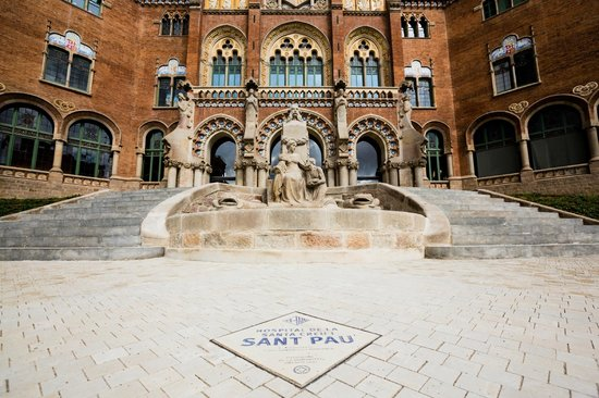 Photo of Sant Pau Recinte Modernista in Barcelona, , ES