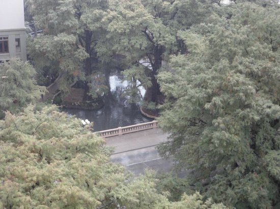 The Westin Riverwalk, San Antonio: view from room on the 10th floor