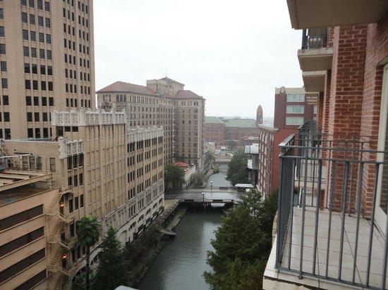 The Westin Riverwalk, San Antonio: 10th floor view
