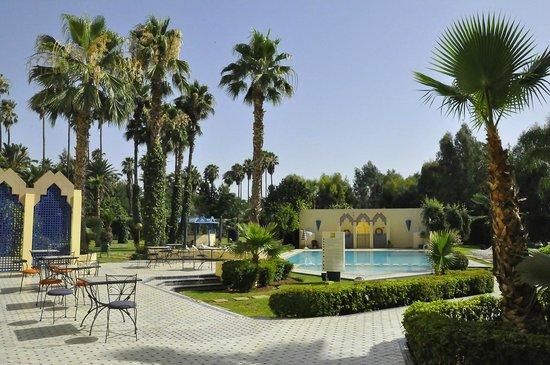 Hotel Ibis Fes : Il grazioso giardino