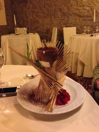 Relais La Corte dei Papi : Another wonderful chocolate desert