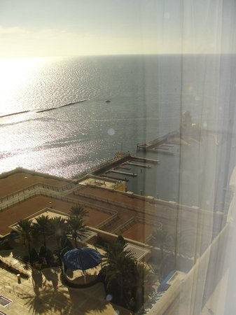 Beau Rivage Resort & Casino Biloxi : View to the right from our room