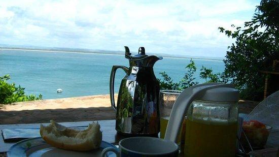 Villa-Bahia Apartments: Así da gusto desayunar :)