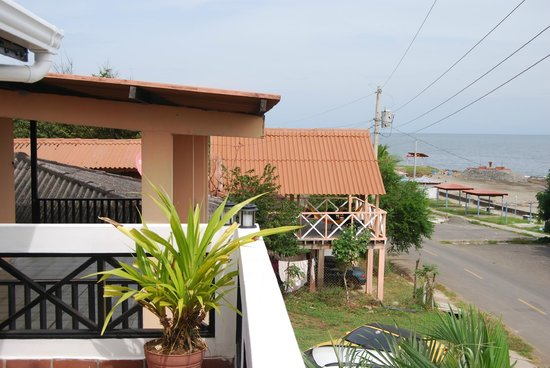 Posada del Mar: Street view  from terrace