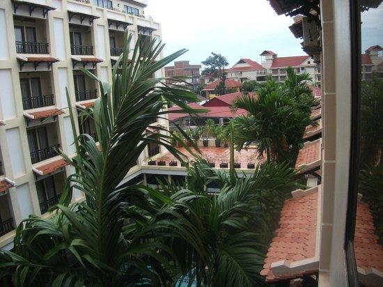 Royal Villa Angkor Hotel: вид из номера