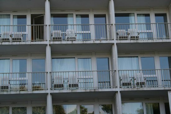 Novotel Thalassa Oleron St Trojan Hotel : Notre chambre, vue forêt