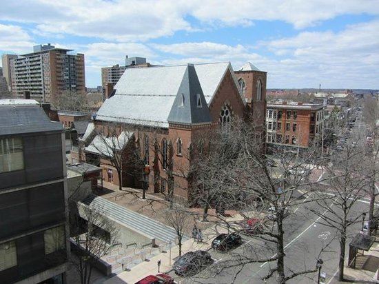 Yale University Art Gallery: view from the balcony