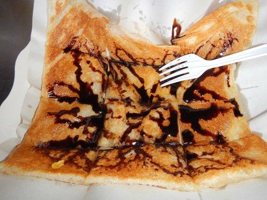 Roti Mina: Chocolate pancake
