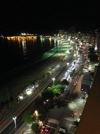 Rio Othon Palace Hotel: Vista Noturna da nossa Suite