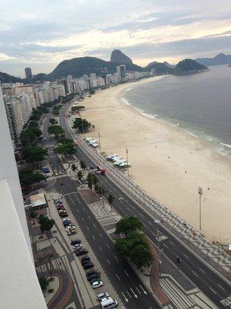 Rio Othon Palace Hotel: Vista Diurna da nossa Suite
