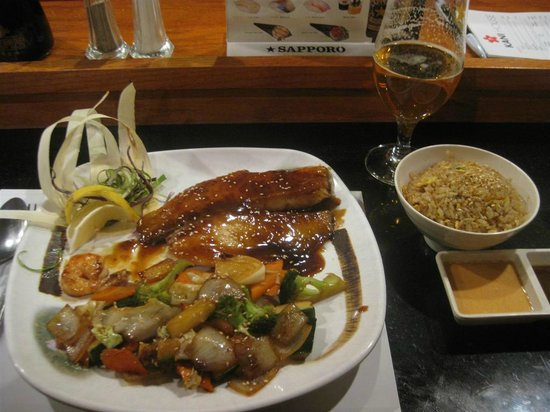 Wonderful Kani House: Tilapia Hibachi #1