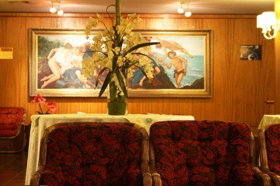Hotel Bella Italia: Sala de recepção.