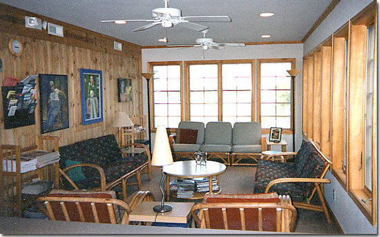 Silver Lake Guest House : Sunroom