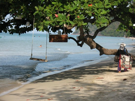Koh Chang Lagoon Resort : пляж