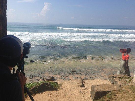 Plantation Surf Inn: plantation beach getting ready for surfing