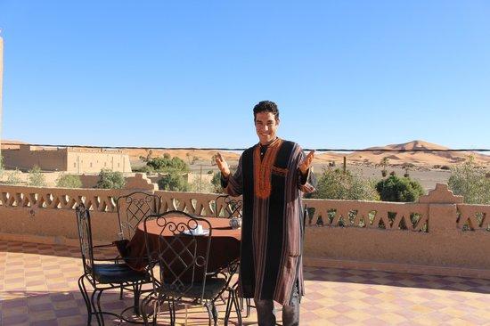 Riad Mamouche: breakfast