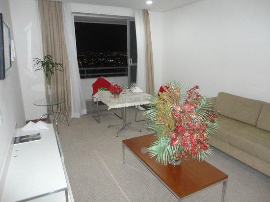 Blue Tree Premium Manaus: Suite decorada para um Jantar íntimo de Natal