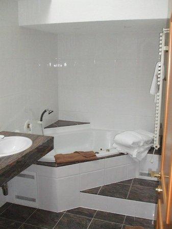 Hotel Enzian: great bathroom