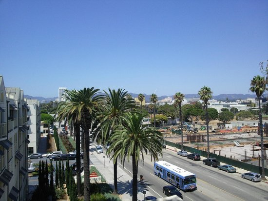 JW Marriott Santa Monica Le Merigot : Вид из окна номера