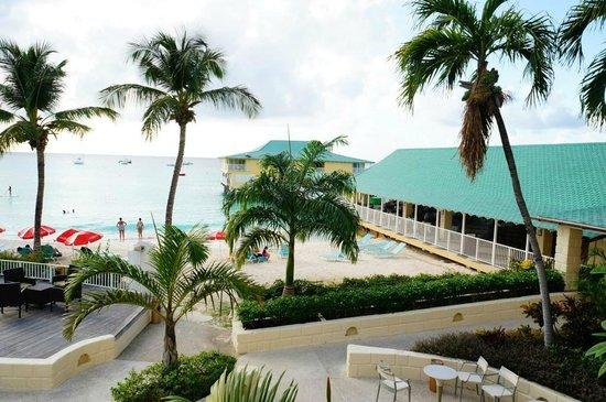 Radisson Aquatica Resort Barbados: View from pool room balcony