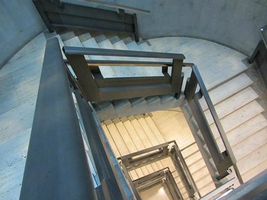 Yale Center for British Art: gallery stairs