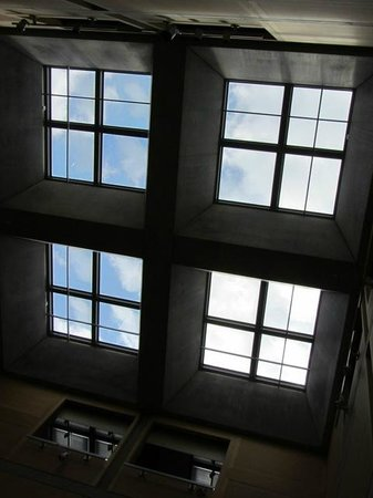 Yale Center for British Art: gallery roof