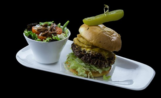 DJ Purdy's Lounge : THAT BURGER - DJ Purdy's has the best pub food in Fredericton