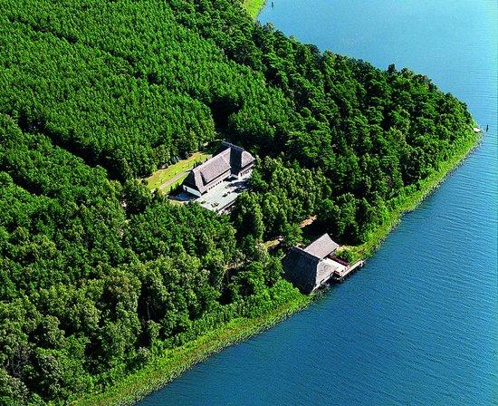 Van der Valk Naturresort Drewitz : Resort aus der Vogelperspektive