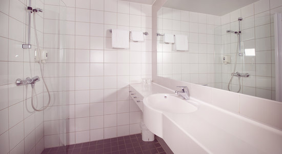 Clarion Collection Hotel Bryggeparken: Standard Single Bathroom