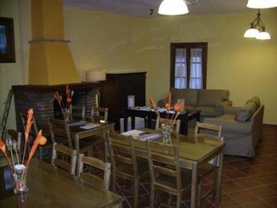 La Posada del Recovero: Sala reuniones/lectura y comedor
