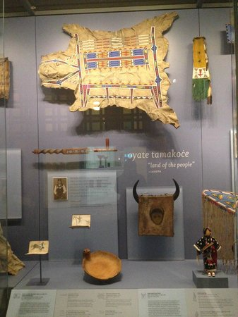 National Museum of the American Indian : Shoshone Display @ NMAI