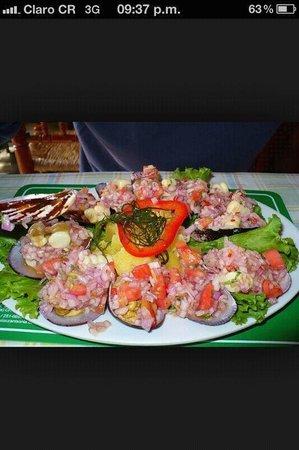Restaurante Chiwake : Choritos a la chalaca