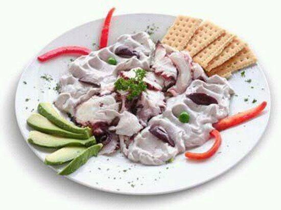 Restaurante Chiwake : Pulpo al olivo con aguacate