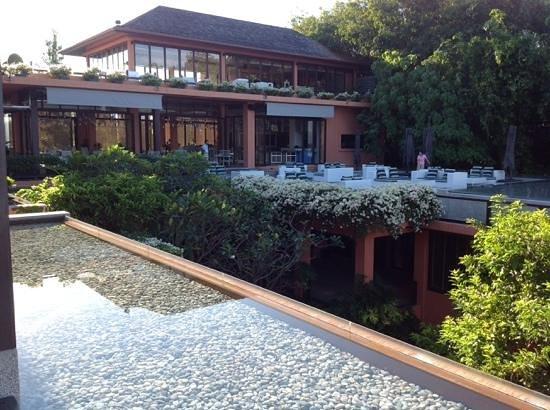 Sri Panwa Phuket: Hotelrestaurant und Lounge