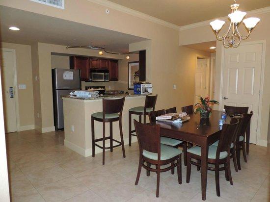 Lake Eve Resort : Cozinha do apartamento