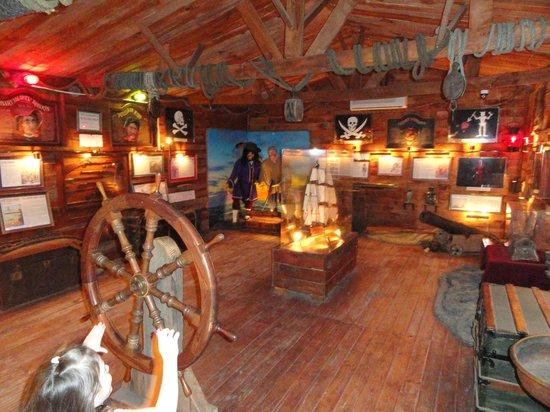 Museo del Mar: Representación de una carabela