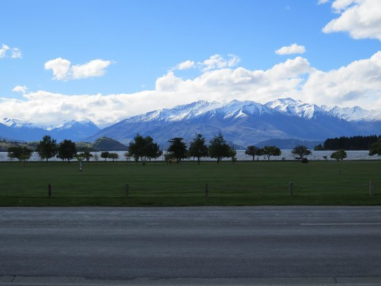 View from The Wanaka View Motel