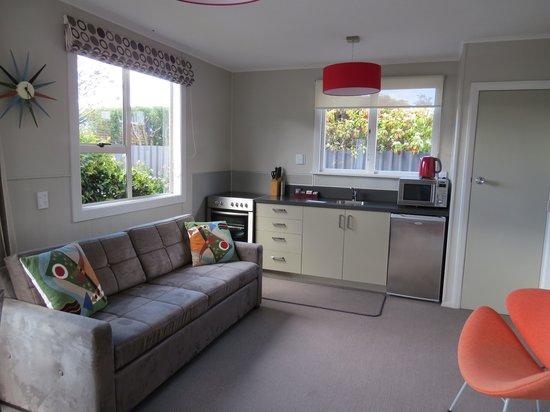 Living room at The Wanaka View Motel