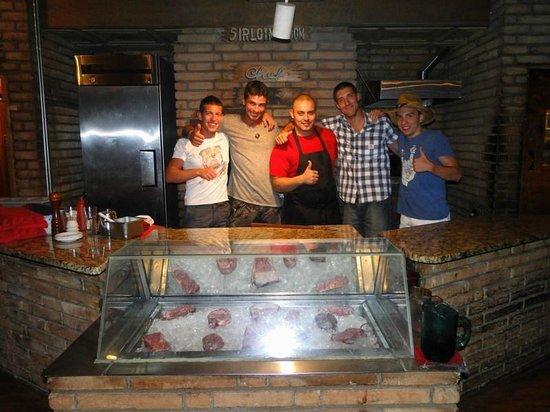 Cattlemen's Fort Worth Steak House: noi col cuoco!