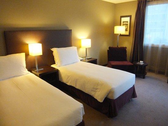 Radisson Blu Hotel, Paris-Boulogne : ベッド