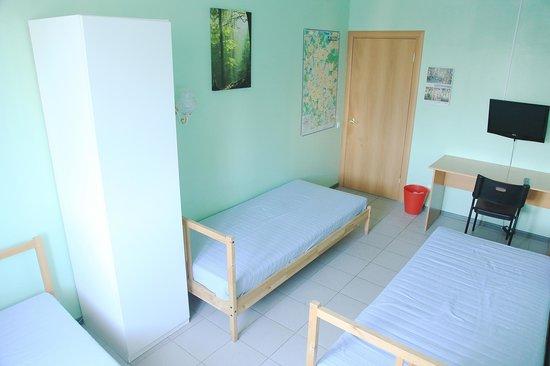 Erel Hostel: 3-х местный семейный номер