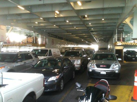 Washington State Ferries: Car Deck