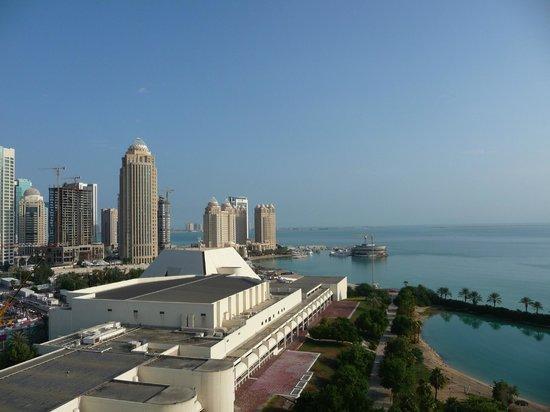 Sheraton Grand Doha Resort & Convention Hotel : Zimmeraussicht